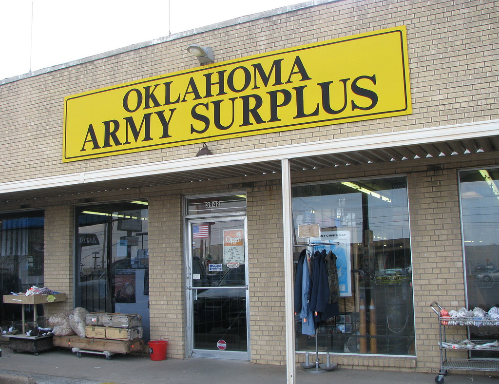 Oklahoma Army Surplus